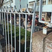 Photo taken at Kurtuluş Anadolu Lisesi by Mehmet T. on 3/13/2016