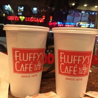 Photo taken at Fluffy's Cafe & Pizzeria by David D. on 12/16/2012