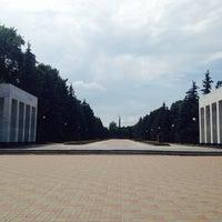 Photo taken at Мемориал Победы 1941-1945 by Дарья С. on 6/8/2014