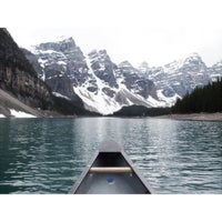 Photo taken at Moraine Lake by Chee Ching on 6/12/2013