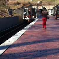 Photo taken at WMATA Red Line Metro by Lauren Y. on 12/23/2012