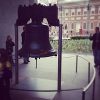 Photo taken at Liberty Bell Center by Rodrigo S. on 4/15/2013