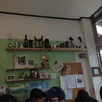 Photo taken at Cafe Sanda by Seo-Gu K. on 3/23/2013