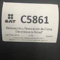 Photo taken at SAT Administración Local by Ruben R. on 4/27/2016