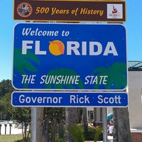 Photo taken at Florida Welcome Center (I-95) by Brian H. on 5/27/2013