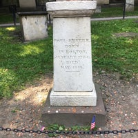 Photo taken at Paul Revere's Tomb by Warren R. on 8/9/2017