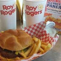 Photo taken at Roy Rogers by Jane E. on 3/13/2014