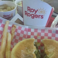 Photo taken at Roy Rogers by Jane E. on 10/21/2014