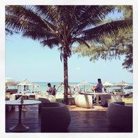 Photo taken at Bliss Beach Club by Kaye P. on 1/15/2013