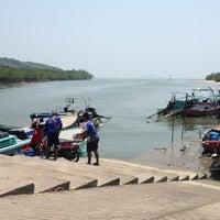Photo taken at Bang Rong Pier by Kaye P. on 3/9/2013