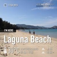 Photo taken at Laguna Beach by Kaye P. on 2/1/2013