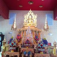 Photo taken at Wat Mongkolratanaram Buddhist Temple by Anuwat A. on 6/15/2013