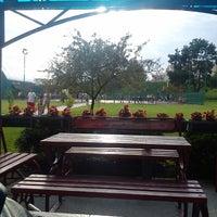 Photo taken at Basketball camp Cross Over Kragujevac by Isidora Z. on 6/26/2014