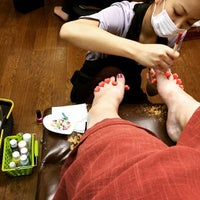Photo taken at cocok nail salon by Elizabeth on 3/25/2015