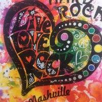 Photo taken at Hard Rock Cafe Nashville by Joey B. on 4/25/2013