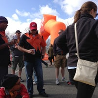 Photo taken at Ragnar Relay: Cape Cod - Finish Line by Kim H. on 5/4/2013