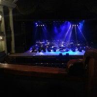 Photo taken at Teatro Popular Melico Salazar by Mau R. on 2/15/2013