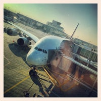 Photo taken at Lufthansa Flight LH 440 by Bjoern O. on 3/5/2013