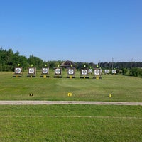 Photo taken at SK Amazones archery summer base by Artūrs Š. on 6/8/2014