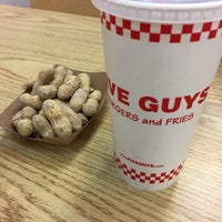 Photo taken at Five Guys by Courtney Y. on 2/12/2017