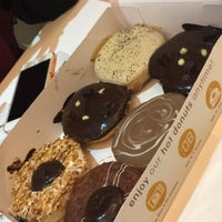 Photo taken at Big Apple Donuts & Coffee by Lyna I. on 10/1/2017