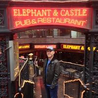 Photo taken at Elephant & Castle by William B. on 11/16/2012