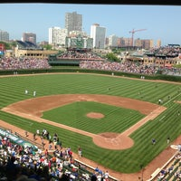 Photo taken at Wrigley Field by Michael H. on 7/5/2013