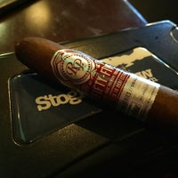 Photo taken at Buckhead Cigar Club by Brian H. on 12/20/2016