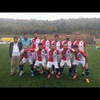 Photo taken at Kuzuluk Stadı by Bozbey on 9/13/2015