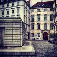 Photo taken at Judenplatz by avtoportret on 10/21/2012