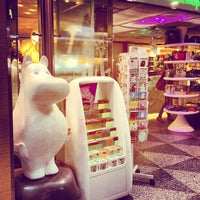 Photo taken at Moomin Shop by avtoportret on 8/12/2013