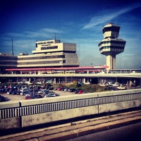 Photo taken at Berlin Tegel Otto Lilienthal Airport (TXL) by avtoportret on 10/22/2013