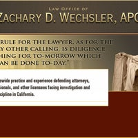 Photo taken at Law Office of Zachary D. Wechsler, APC by Zach W. on 5/27/2014