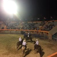 Photo taken at Feria Ganadera by Ramon M. on 3/13/2017