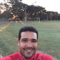 Photo taken at Complejo Deportivo Hermanos Suarez by Ramon M. on 1/2/2016