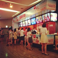 Photo taken at CGV Apgujung by Trifectainvest on 7/27/2013