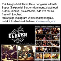 Photo taken at Eleven Cafe Bengkulu by Tomi Y. on 10/20/2015