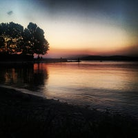 Photo taken at Kodály Strand by Ferenc E. on 7/13/2013