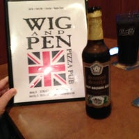 Photo taken at Wig & Pen by Sandy M. on 8/31/2013