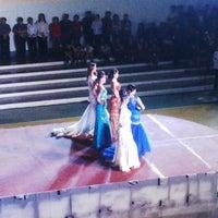 Photo taken at Amas Provincial Gymnasium by zebulun e. on 8/25/2014