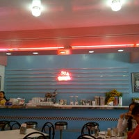 Photo taken at 50's Diner by Rhoobz E. on 1/18/2013