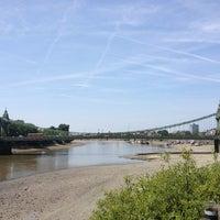 Das Foto wurde bei Thames Path von Stephy B. am 7/14/2013 aufgenommen