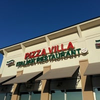 Photo taken at Pizza Villa by George S. on 10/12/2012