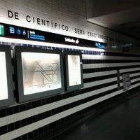 Photo taken at Metro Saldanha [AM,VM] by Anita on 10/26/2012