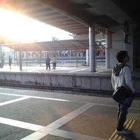 Photo taken at KTM Line - Bandar Tasik Selatan Station (KB04) by Ayum L. on 3/24/2013