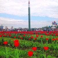 Снимок сделан в Парк Победы пользователем Iskander B. 5/9/2012