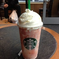 Photo taken at Starbucks by Mia B. on 4/13/2012
