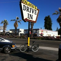 Photo taken at Falafel's Drive-In by Aura on 7/28/2012