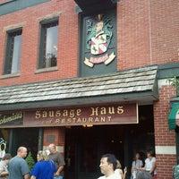 Photo taken at Schmidt's Restaurant und Sausage Haus by Willie Y. on 9/2/2012