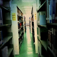 Photo taken at Library by ZAACCANDID on 4/8/2012